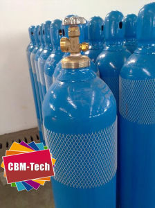 High Pressure 50L Steel Oxygen Cylinders for Medical O2 Supply System pictures & photos
