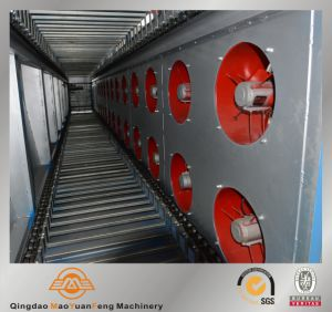 Mesh Belt Type Rubber Piece Batch-off Cooling Machine with ISO SGS BV pictures & photos