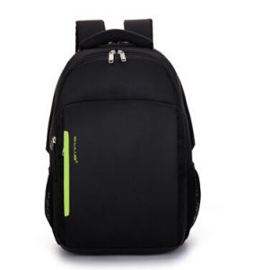 Fashion Polyester Multi-Compartment Laptop Backpack for School, Hiking, Travel