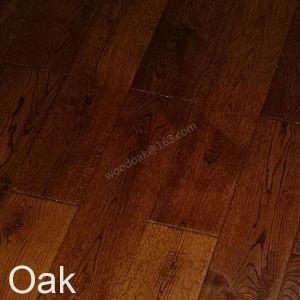 Black Walnut Oak Wood Flooring / Oak Hardwood Flooring with CD Grade