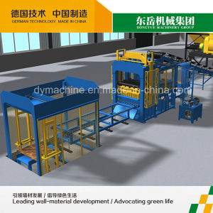 Qt10-15 Automatic Brick Production Line/Road Brick/Insulated Concrete Blocks Machine Qt10-15 pictures & photos