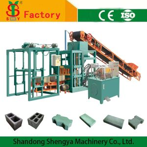 Qt4-20 Automatic Hydraulic Brick Making Machine Line for Sale in Africa pictures & photos