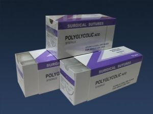 Medical Sterile Absorbable Disposable Surgical Suture with Needle pictures & photos