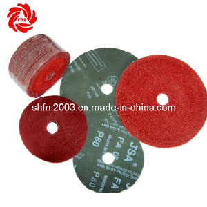 Abrasive Fiber Disc for Metal/ Stainless Steel (3M distributor) pictures & photos