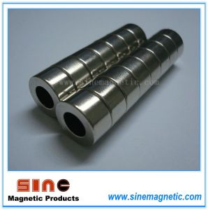 Strong Permanent NdFeB Magnet Ring pictures & photos