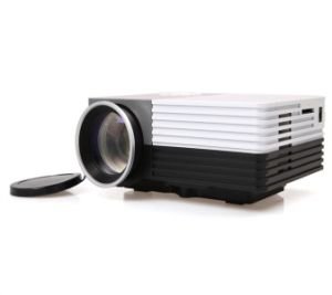 Ultra Portable 600 Lumen Full HD Home Theater Digital LCD 3D LED Projector with USB HDMI VAG Va Input pictures & photos