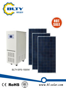 1500W off Grid Solar Power System for Home Appliance pictures & photos