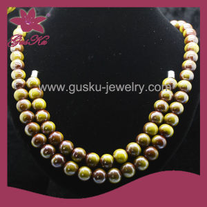 Health Care Bead Jewelry High Quality Bead Necklace (2015 Tmns-085)