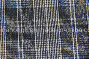 Yarn Dyed, Single Sided Plaid T/R Fabric, 220GSM, 63%Polyester 33%Rayon 4%Spandex pictures & photos