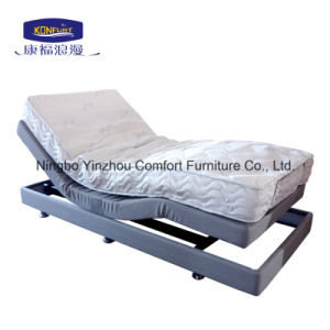 2016 Popular Home Furniture Adjustable Bed with Massage pictures & photos