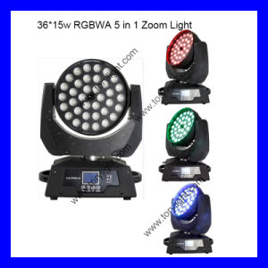 Newest 36*12W Zoom Beam Moving Head Light pictures & photos