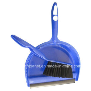 2 in 1 Plastic Dustpan & Brush Set pictures & photos