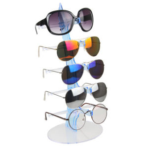 Creative Sail-Shaped Multi Layer Sunglasses Acrylic Display Rack pictures & photos
