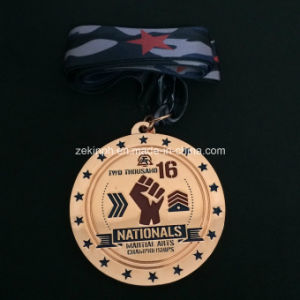 Custom Championship Medals with Ribbon for Award pictures & photos