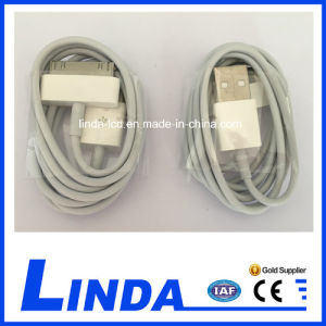 Mobile Phone Cable for iPhone 4 USB Cable pictures & photos