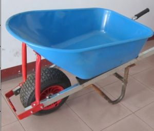 Heavy Duty Wheelbarrow with 16X6.50-8 Air Wheel pictures & photos
