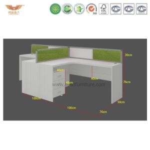 New Modular Partition 4 Person Office Workstation pictures & photos