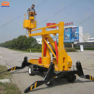 12m CE Approved Articulated Aerial Platform pictures & photos