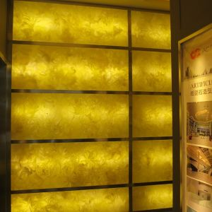 Modified Acrylic Solid Surface Sheet Commerical Decorative Material Translucent Stone pictures & photos