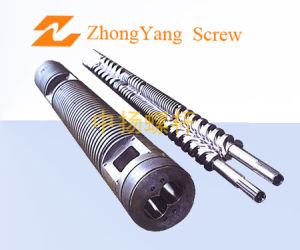 Screw and Barrel for Plastic Film Blowing Machines pictures & photos