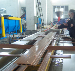 PVC WPC Wood Plastic Profile Extrusion Line/Extruder Machine pictures & photos