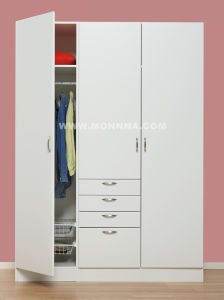 PVC Door Wardrobe with ISO and E1 Standard