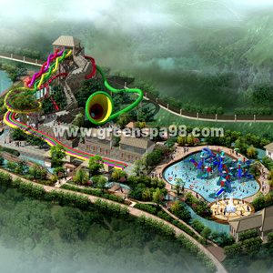 Thermal Spring & Water Park Conceptual Design pictures & photos