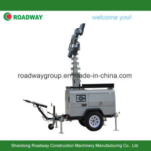 Hydraulic Mast Outdoor LED Light Tower pictures & photos