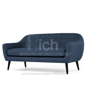 Living Room Modern Fabric Sofa (3 Seater) pictures & photos