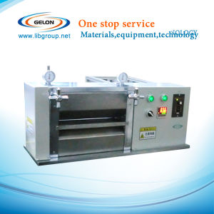 Lithium Battery Heat Rolling Calender Press Machinery for Lab Research (GN-JS100) pictures & photos