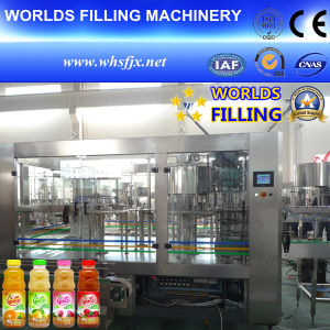 Automatic Bottle Juice Hot Filling Machine (RCGF24-24-8)