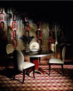 Hotel Furniture/Canteen Furniture Sets/Dining Room Furniture Sets/Luxury Banquet Furniture Sets/Restaurant Furniture Sets (GLNDC-05) pictures & photos