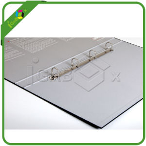 Durable Cardboard A4 Lever Arch File Folder with Metal pictures & photos
