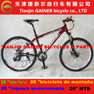 "Tianjin Gainer 26"" MTB Bicycle 21sp Shimano Equipped pictures & photos"
