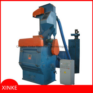 Tumbling Shot Blasting Cleaning Machine with Rubber Belt pictures & photos