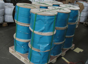2016 Hot Sale Galvanized Steel Rope 1X7 with Wooden Reel Packing pictures & photos