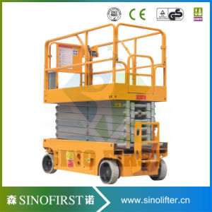 4-14m Self Propelled Mobile Electric Scissor Lift for Sale pictures & photos