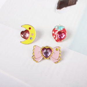 Lovely Brooch, Strawberry, Butterfly and Moon Fashion Jewellery