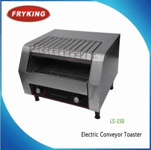 Electric Conveyor Bread Slice Toaster for Bakery pictures & photos
