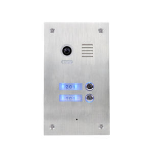 4 Wires Video Intercom Villa System (Out door station PL981C4(2)) pictures & photos