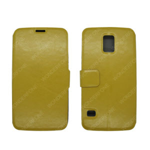 Top Selling Full Leather Case for Samsung Galaxy S5 pictures & photos