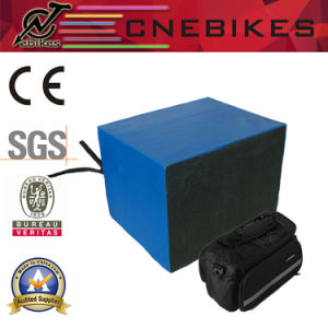 48V 20ah Lithium Battery with Bag for E-Bike Conversion Kit pictures & photos