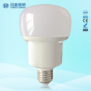 Hot-Sale LED Lighting 15W Torch-Shape Plastic+Aluminum Compact Bulb pictures & photos