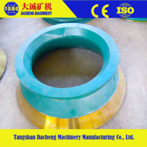 High Manganese Casting Cone Crusher Parts pictures & photos