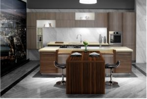 Modern High Gloss UV Kitchen Cabinet (ZX-009) pictures & photos