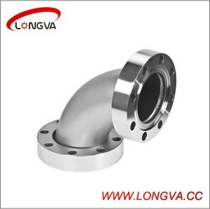 Industry Use Stainless 90deg Flange Elbow pictures & photos