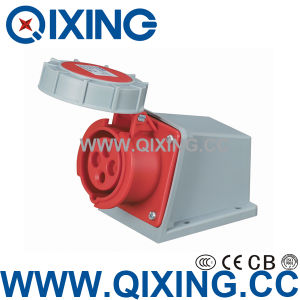 Industrial Female Surface Mounted Socket for Industrial Application (QX-1196) pictures & photos