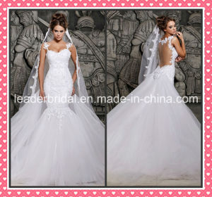 Backless Mermaid Wedding Dresses Lace Bridal Wedding Gowns Z5036 pictures & photos