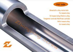 Bimetallic Screw Barrel for Plastic Machinery Extrusion pictures & photos