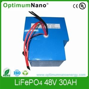LiFePO4 Battery 48V 30ah, Lithium Battery for Golf Cart pictures & photos